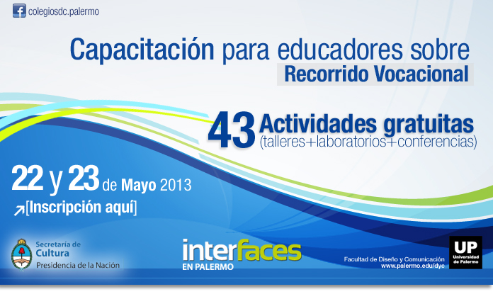 Interfaces en Palermo 2013